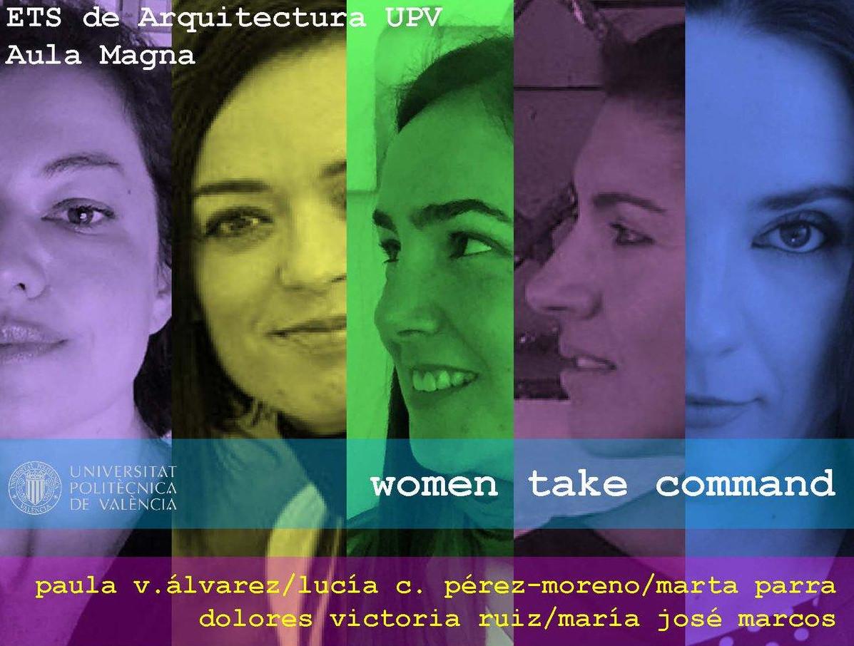 «Women Take Command». Conferencia en Valencia