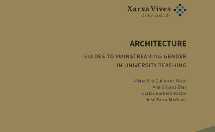 Guide to introducing gender perspective into architecture teaching and research