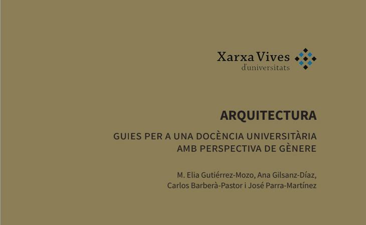 Guía para la introducción de la perspectiva de género en la docencia e investigación en Arquitectura